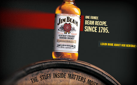 "Jim Beam | ""Burn"" Media Campaign"