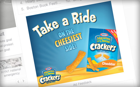 "Mac & Cheese Crackers | ""The Cheesiest"" Media Campaign"