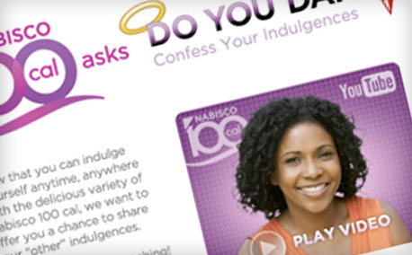 "100 Calorie Packs | ""Do You Dare?"" Video Media Campaign"