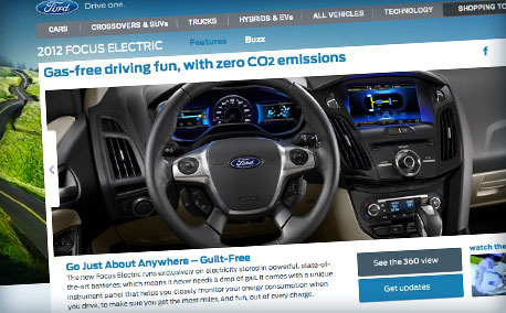 Ford | Vehicle interface system for Focus Electric