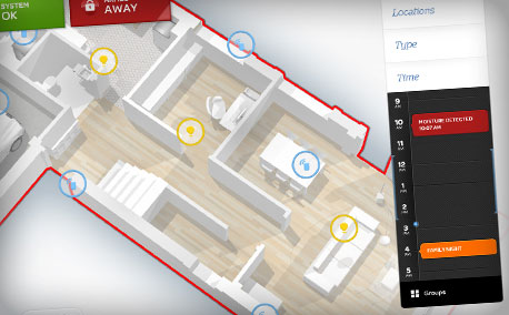 AT&T | Digital Life iPad Home Automation App Concept