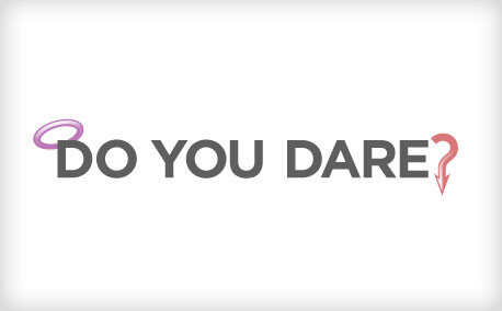 "100 Calorie Packs | ""Do you dare?"" Word Mark"