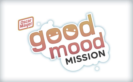 "Oscar Mayer | ""Good Mood Mission"" Program Identity"